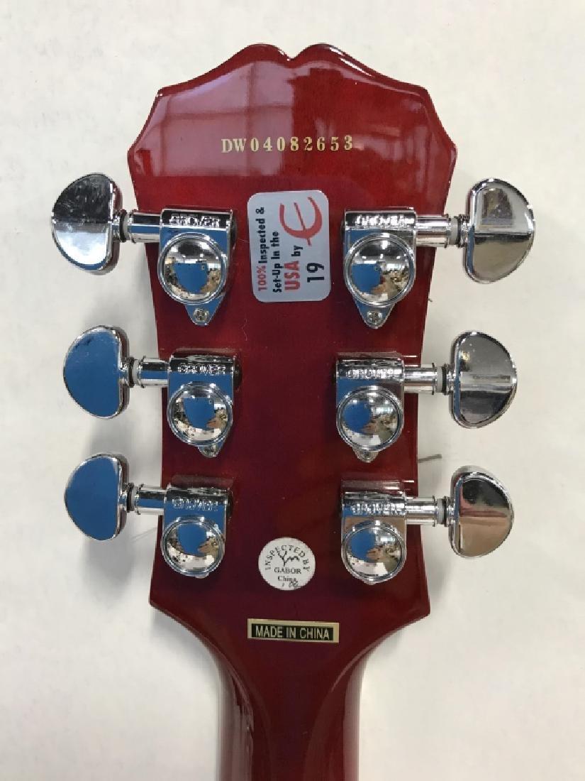 Les Paul Standard Guitar In Cherry Sunburst - 7