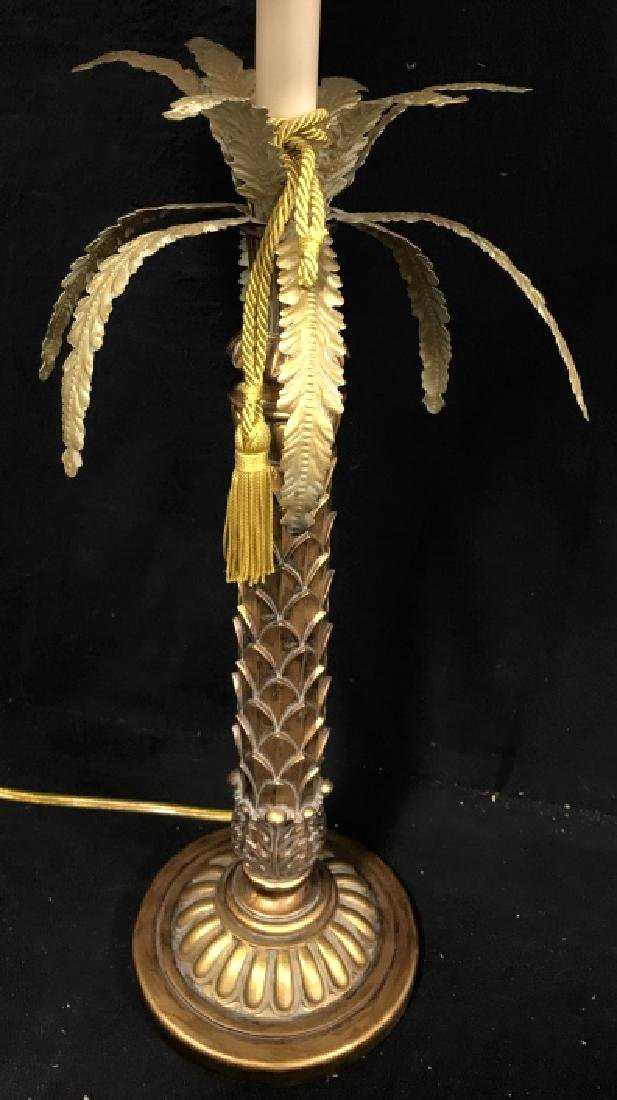 Palm Tree Style Table Lamp