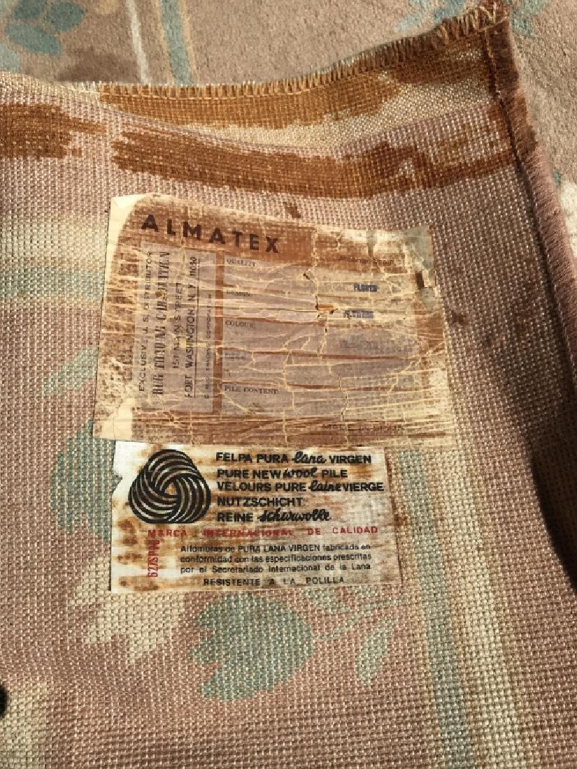 ALMATEX Spanish Wool Pile Rug - 8