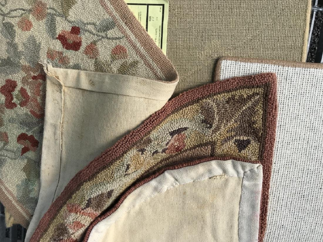 Lot 4 Assorted Wool Rugs - 7