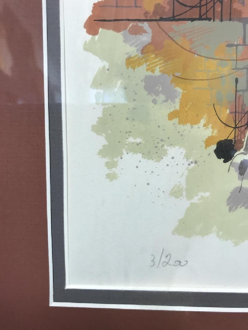 Signed And Numbered Lithograph Print - 4