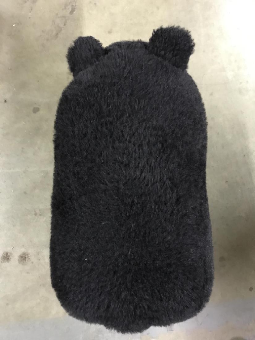 Plush Style Bear Shaped Footstool, Ottoman - 4