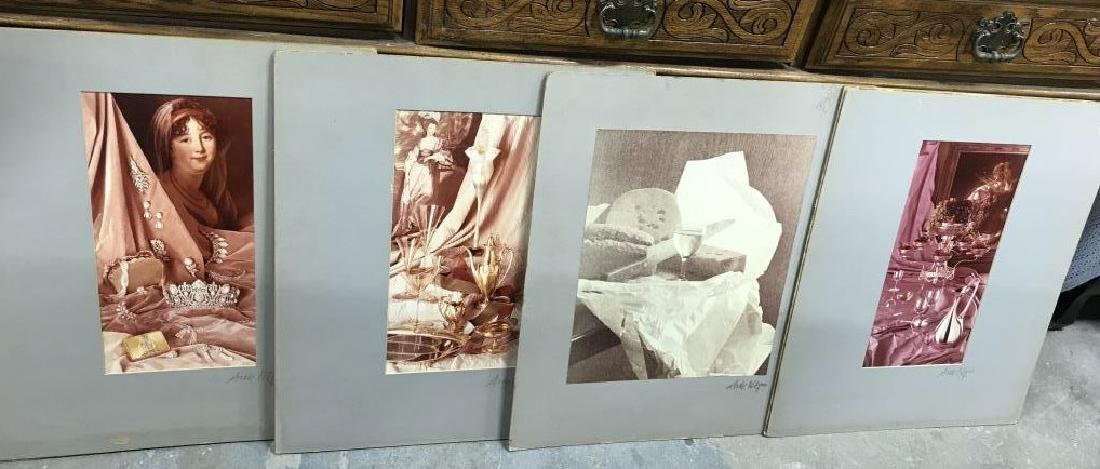Set 4 Signed Matted Photographs - 2