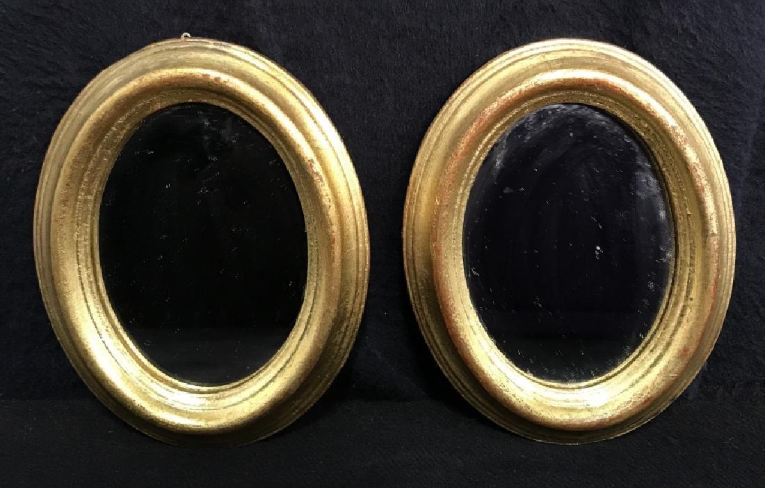 Lot 4 Vintage Italian Hand Made Mirrors - 3
