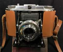 Vintage Ansco Titan Camera And Leather Case
