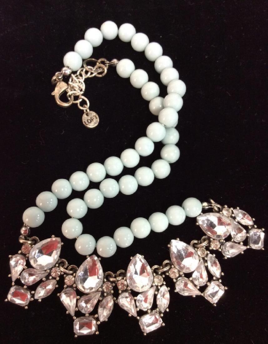 ANN TAYLOR Rhinestone Necklace