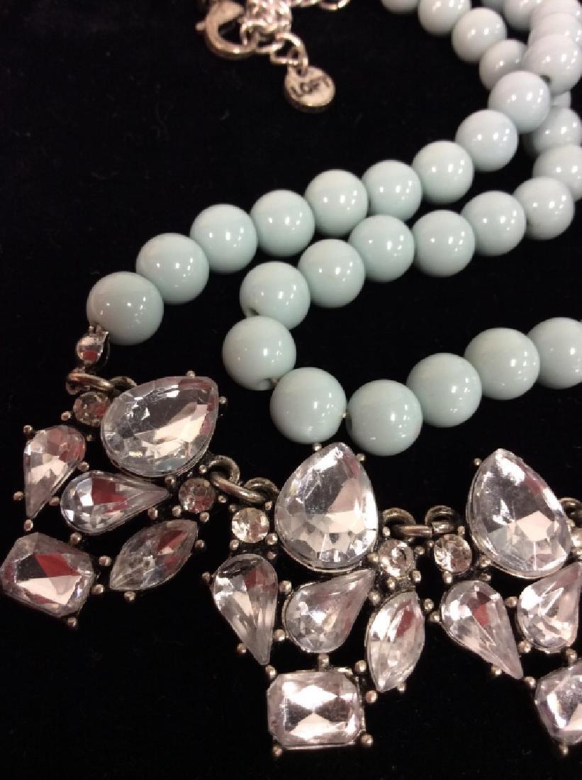 ANN TAYLOR Rhinestone Necklace - 2
