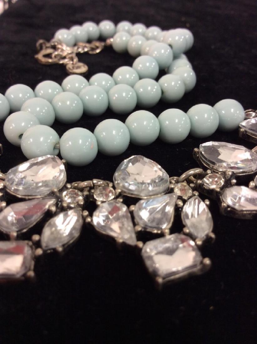 ANN TAYLOR Rhinestone Necklace - 3