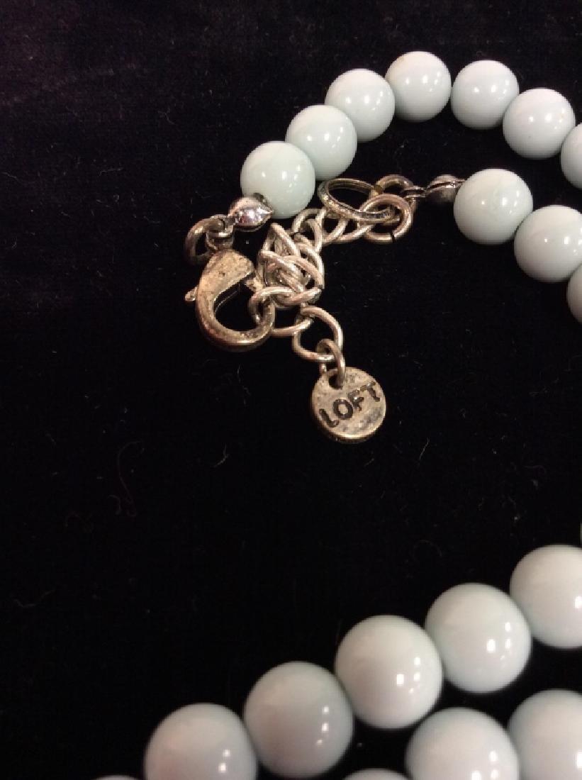 ANN TAYLOR Rhinestone Necklace - 4