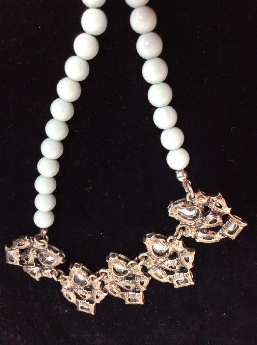 ANN TAYLOR Rhinestone Necklace - 6