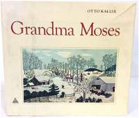 Grandma Moses by Otto Kallir Art Book