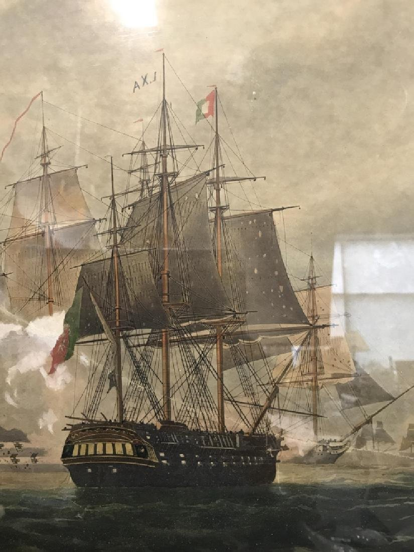 Framed Nautical Print - 6