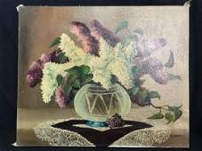 M KOVACS Botanical Painting