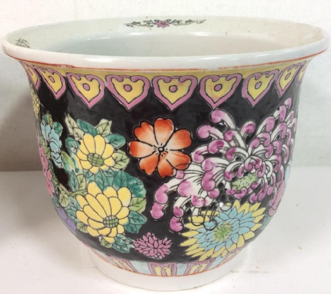 Lot 4 Vintage Planter Vases - 3