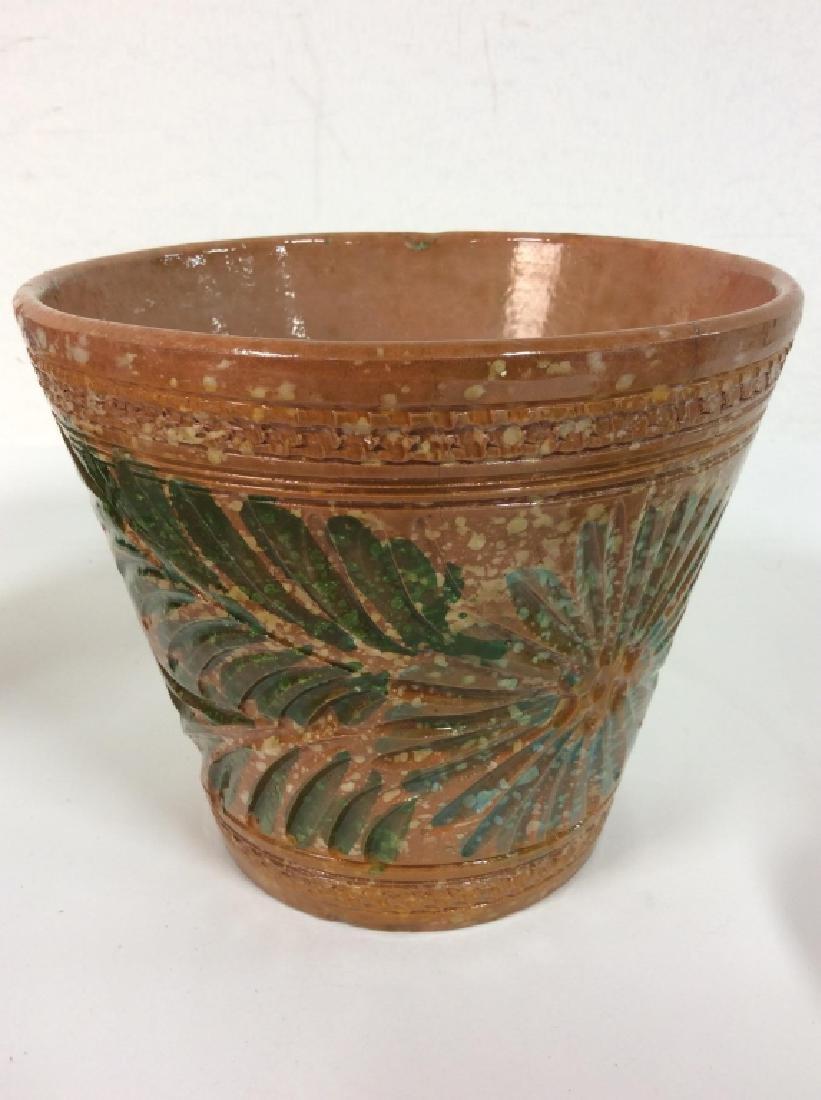 Lot 4 Vintage Planter Vases - 5