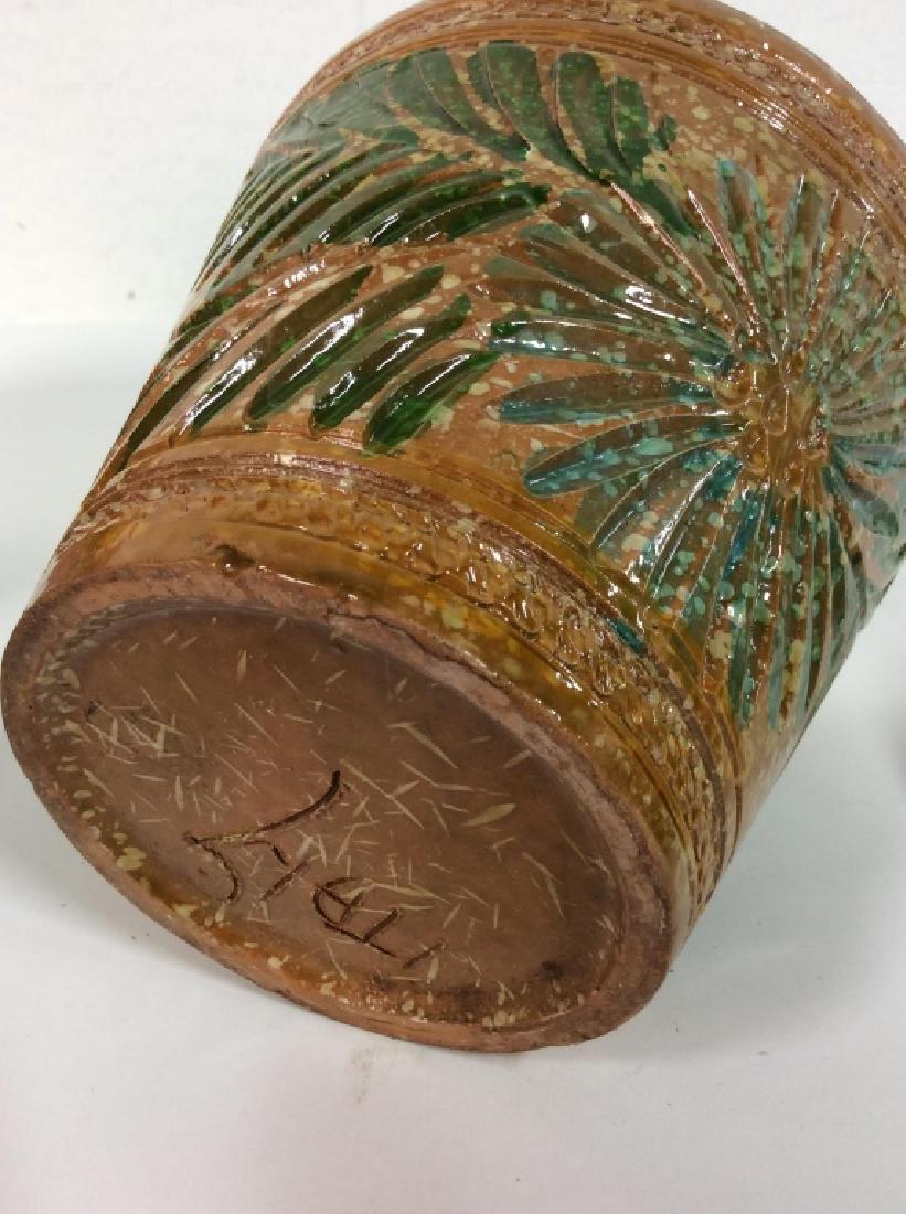 Lot 4 Vintage Planter Vases - 6
