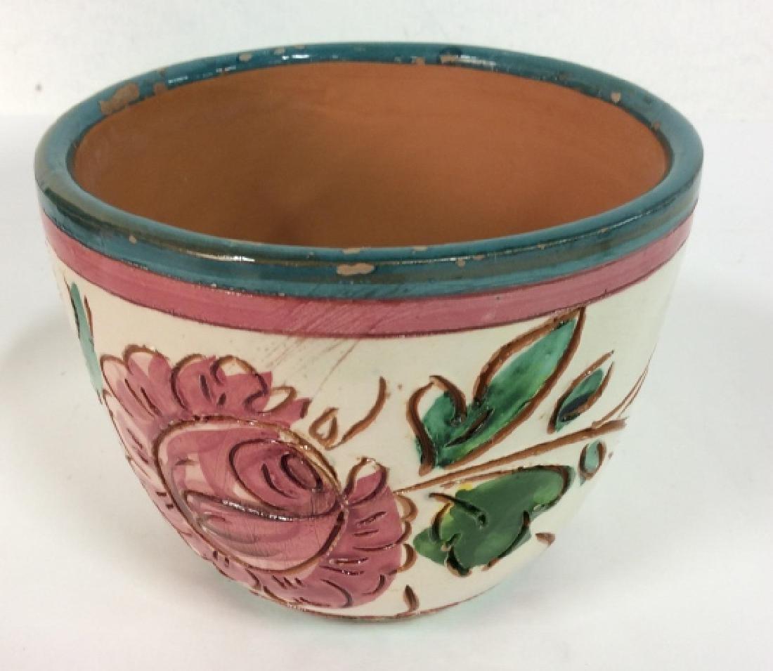 Lot 4 Vintage Planter Vases - 9