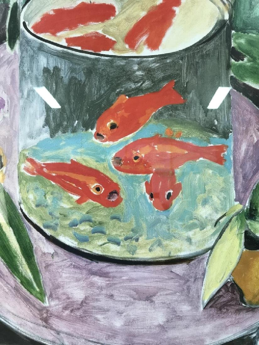 Framed Impressionist Matisse Exhibition Poster - 2