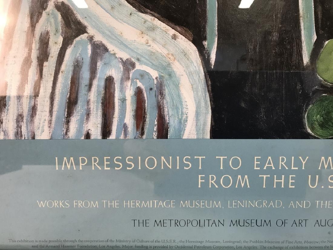 Framed Impressionist Matisse Exhibition Poster - 4