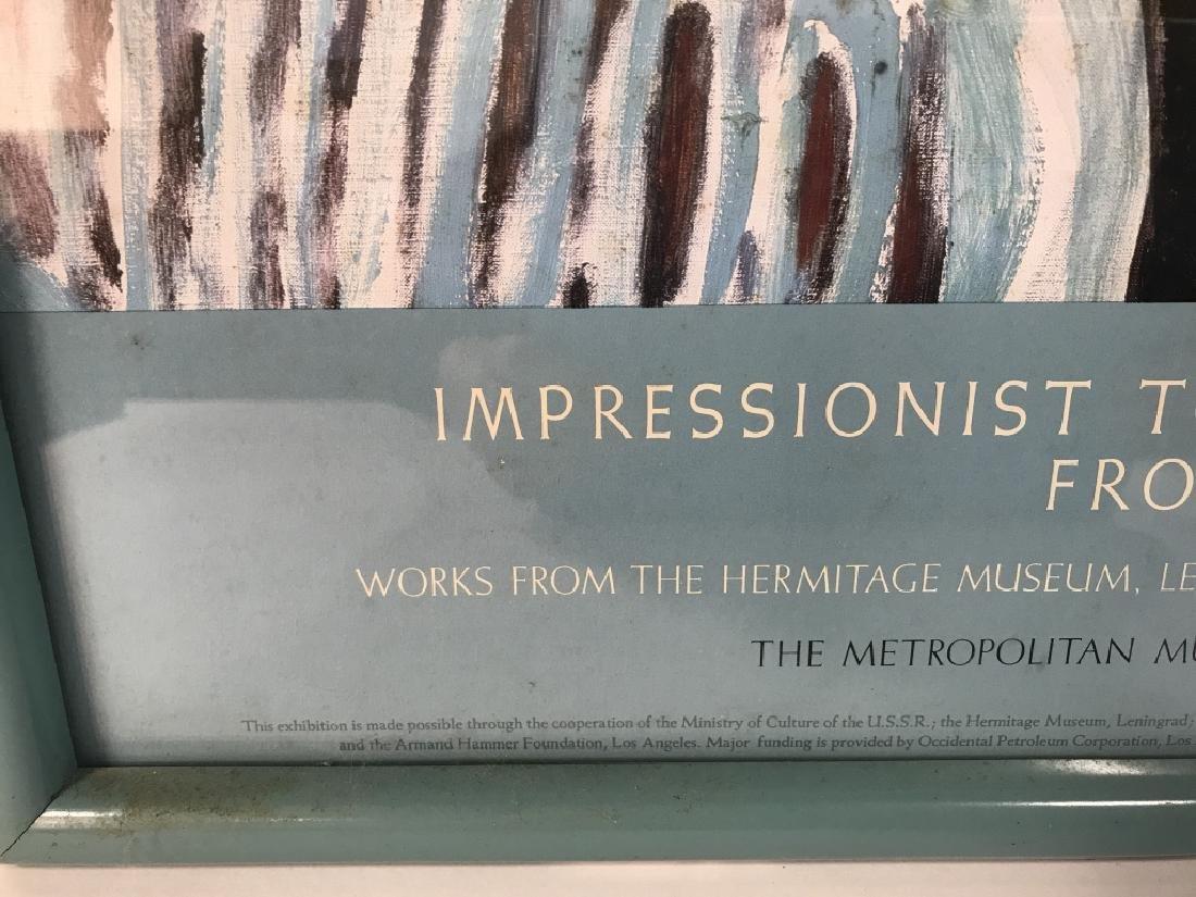 Framed Impressionist Matisse Exhibition Poster - 5