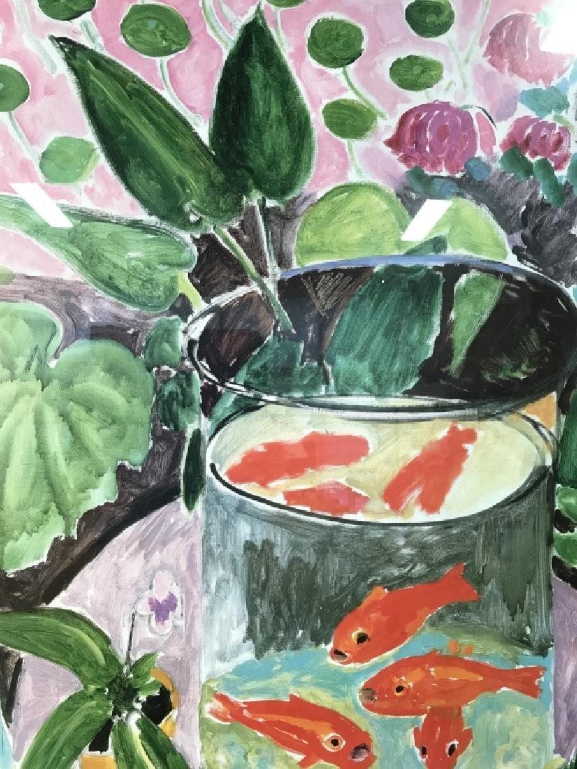 Framed Impressionist Matisse Exhibition Poster - 7