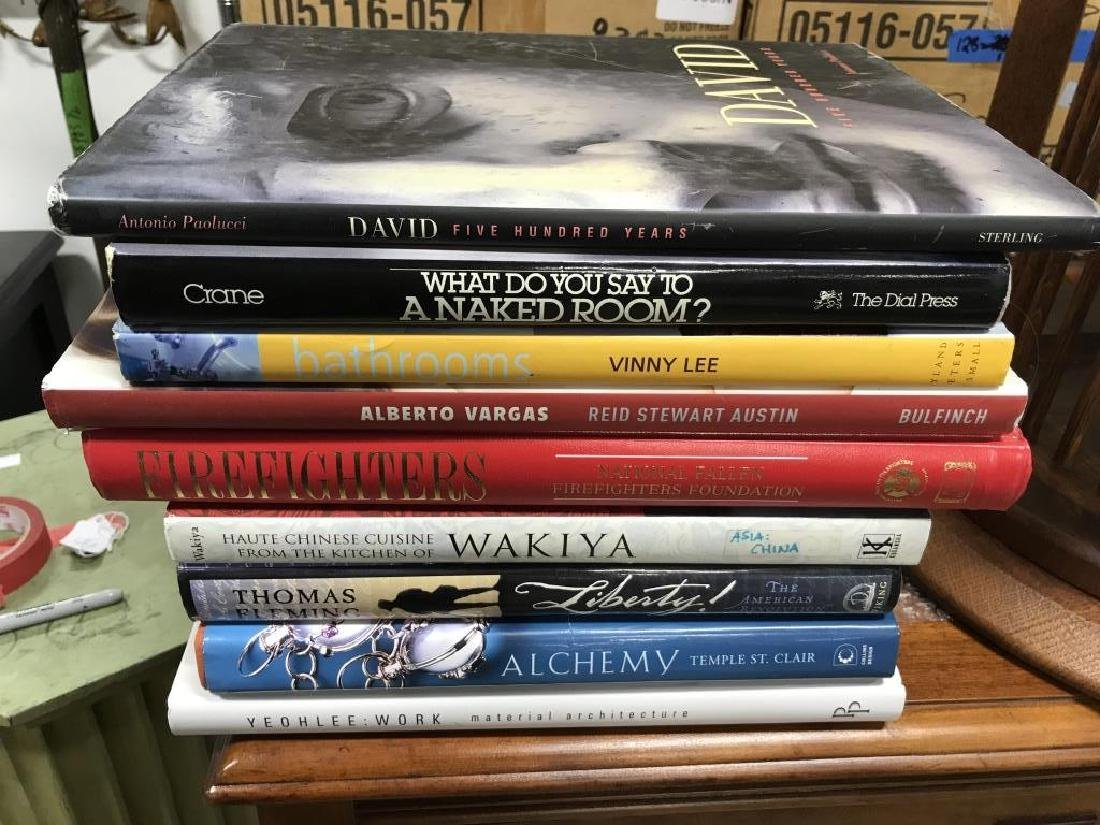 Group Lot Art and MoreCoffee Table Books