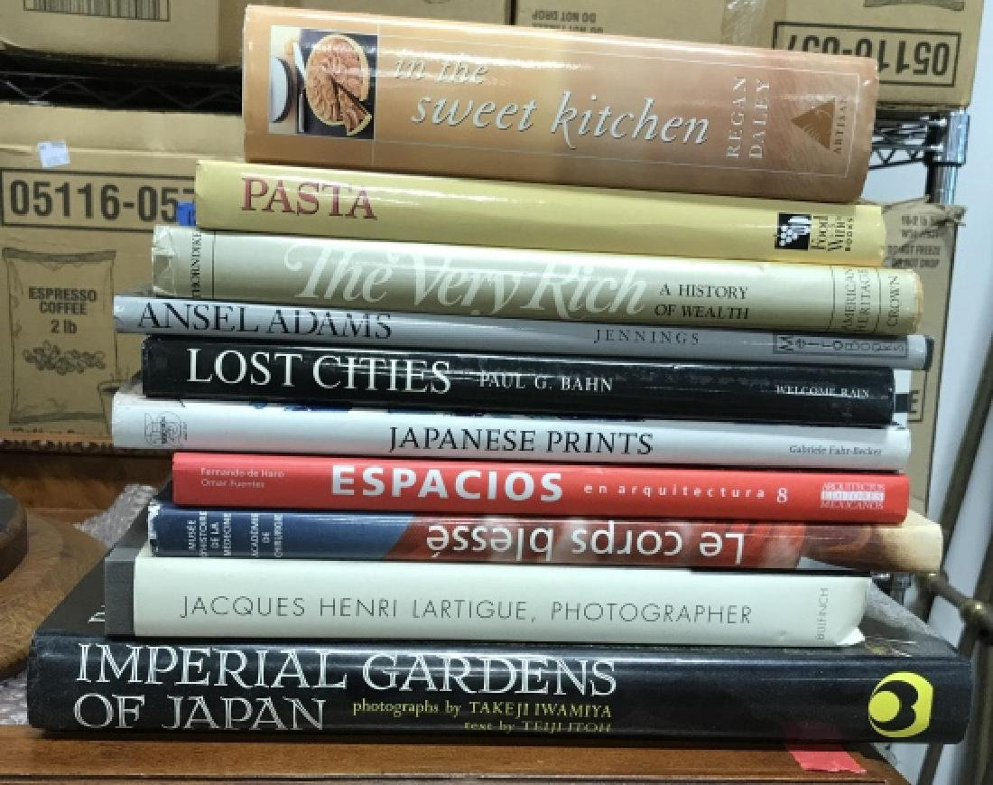 Group Lot Art Coffee Table Books and More