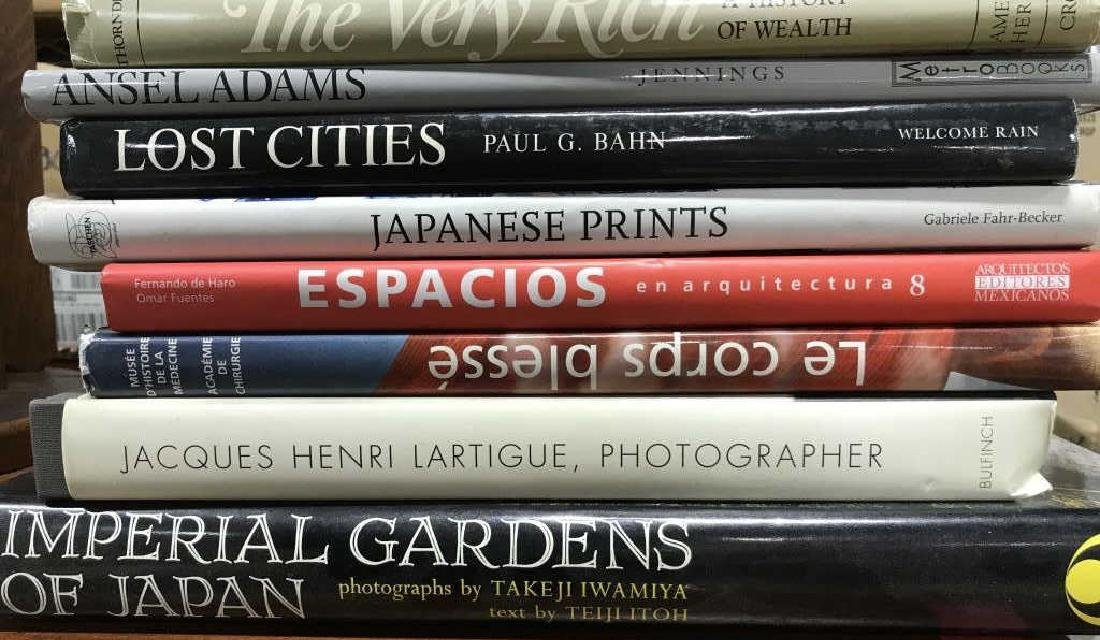 Group Lot Art Coffee Table Books and More - 2