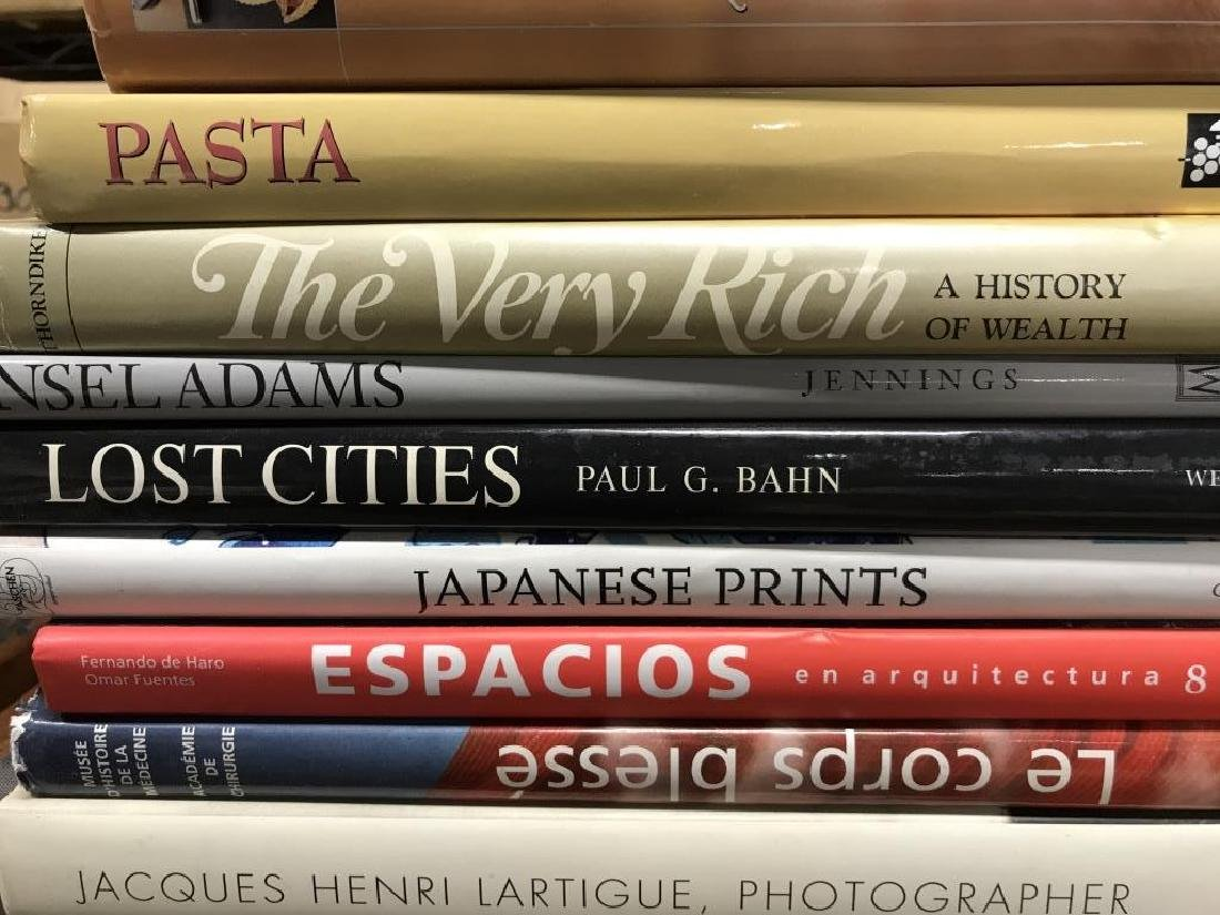 Group Lot Art Coffee Table Books and More - 3