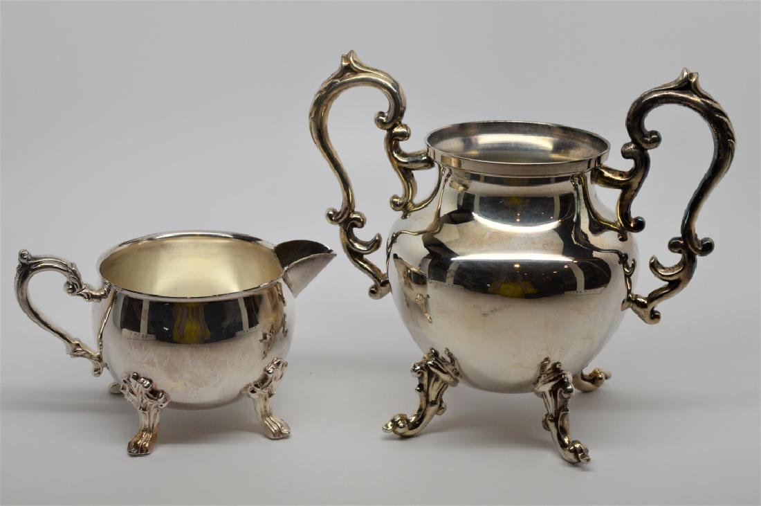 2 Silverplate Serving Pieces