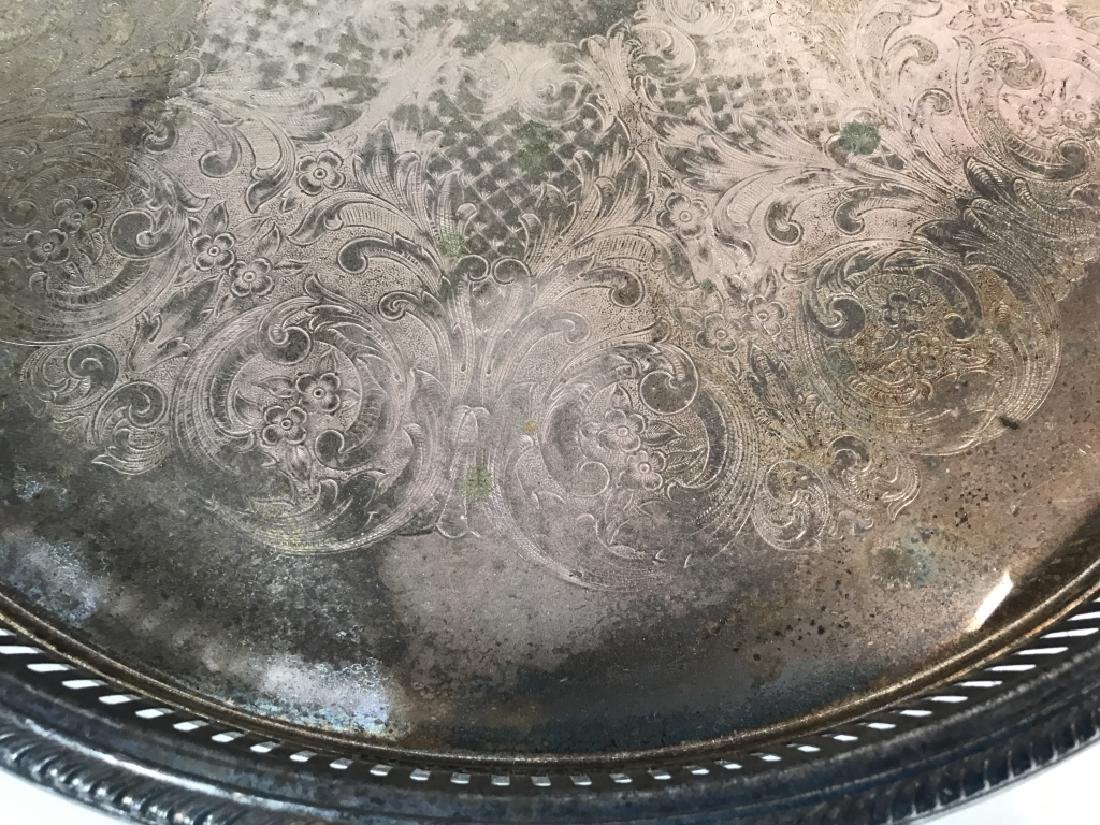 Group Lot Vintage Silver Plate Table top - 5