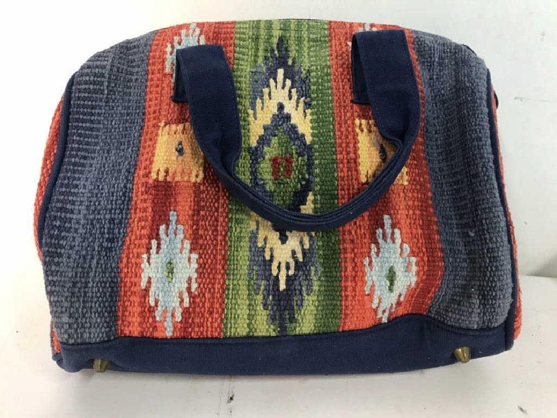 CATORI Woven Fabric Canvas Pocketbook