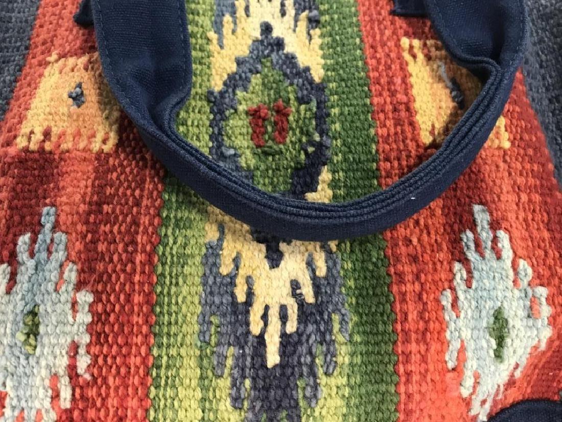 CATORI Woven Fabric Canvas Pocketbook - 2