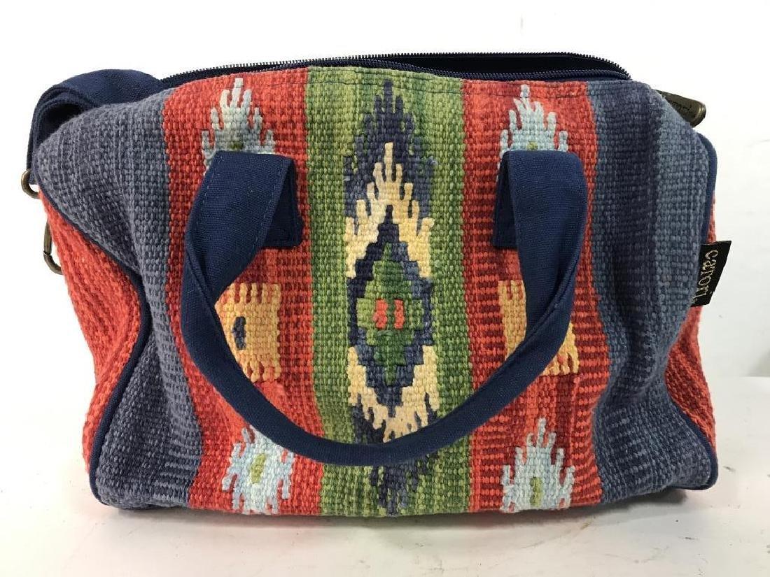 CATORI Woven Fabric Canvas Pocketbook - 3