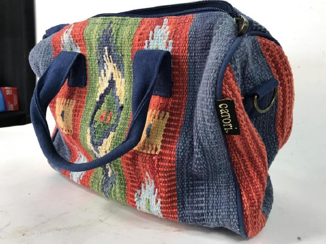 CATORI Woven Fabric Canvas Pocketbook - 4