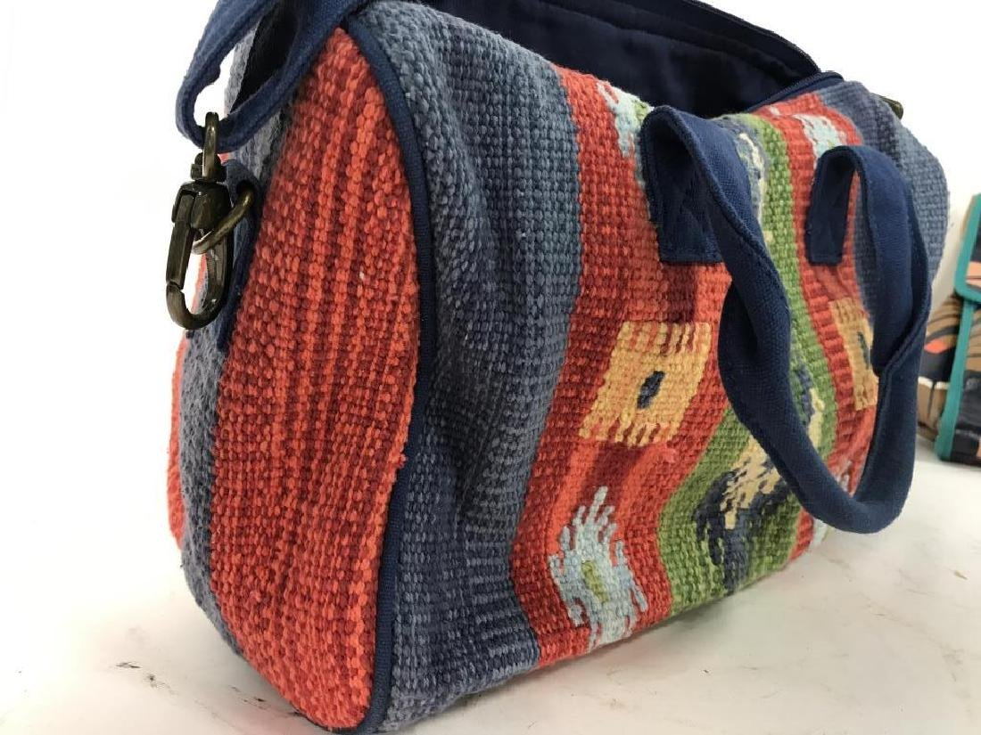 CATORI Woven Fabric Canvas Pocketbook - 5