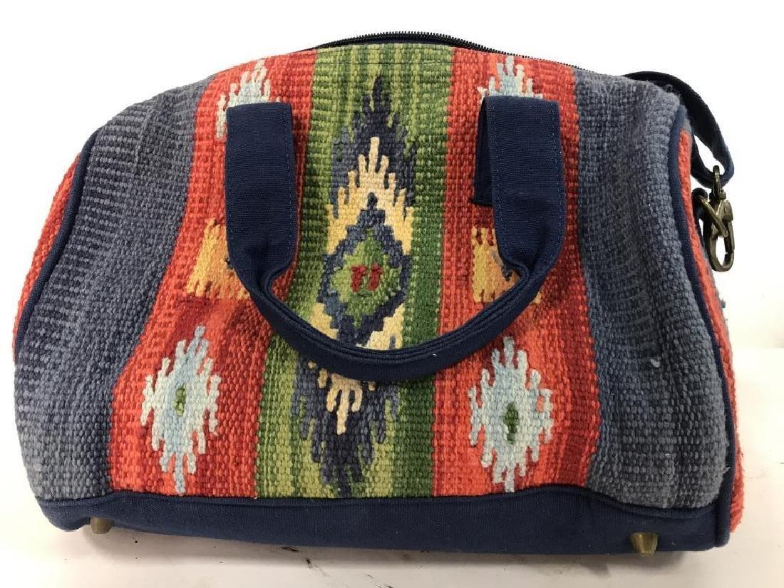 CATORI Woven Fabric Canvas Pocketbook - 6