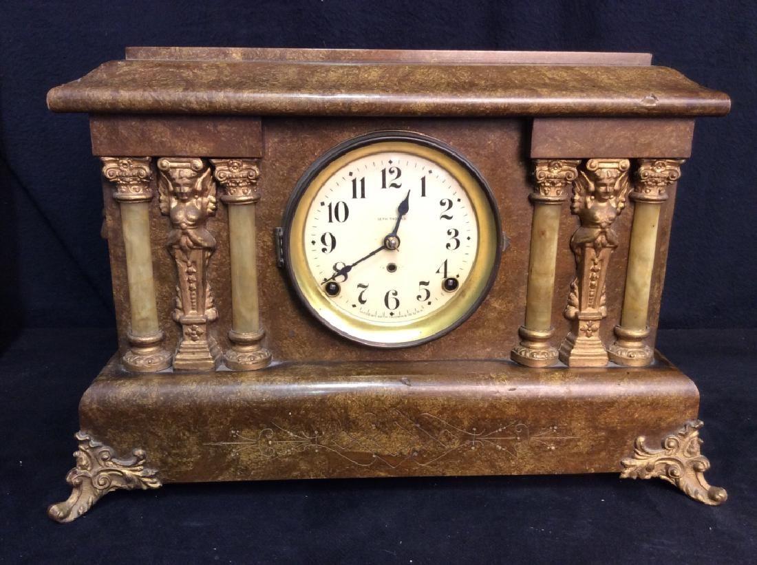 Vintage SETH THOMAS Adamantine Mantle Clock