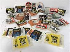 300 Plus Vintage BEATLES Color Cards And Wrappers