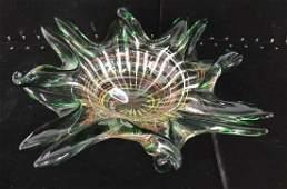 Colorful MURANO Art Glass Vessel