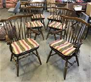 Windsor Style Spindle Back Chairs