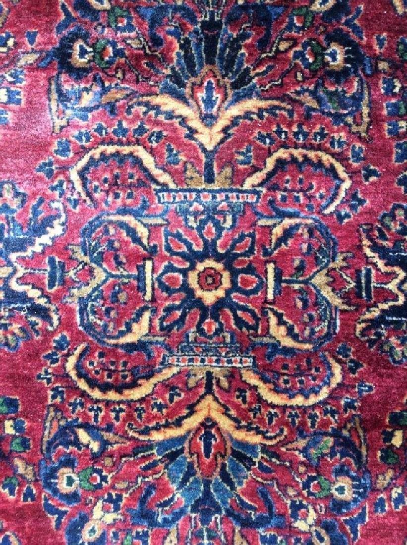 Antique Multi Toned Handmade Persian Wool Rug