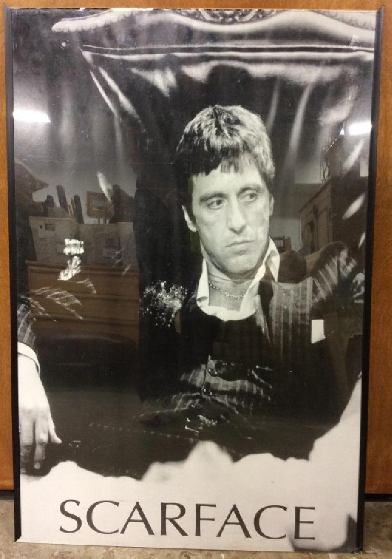 Framed SCARFACE Poster Print