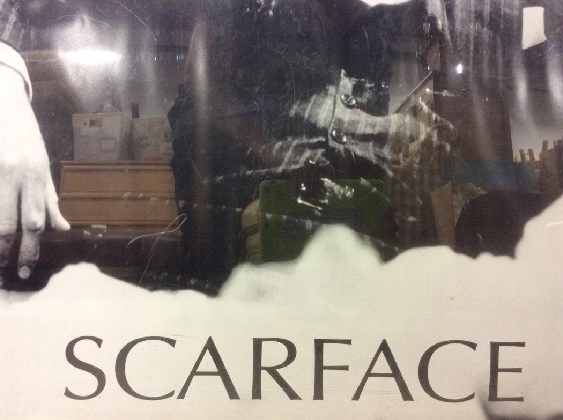 Framed SCARFACE Poster Print - 4