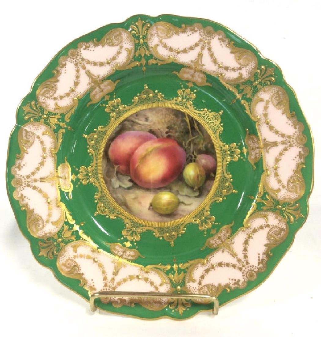 ROYAL WORCESTER English Porcelain Plate