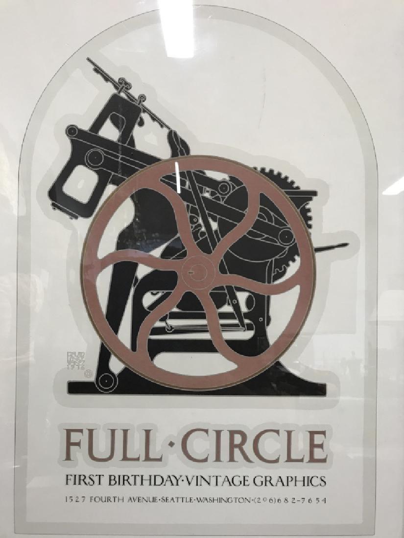 FULL CIRCLE Framed Poster Print