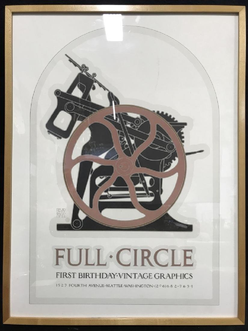 FULL CIRCLE Framed Poster Print - 2
