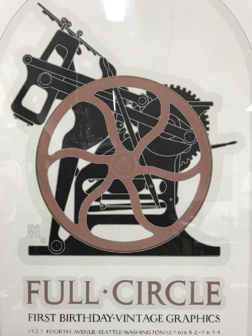 FULL CIRCLE Framed Poster Print - 3