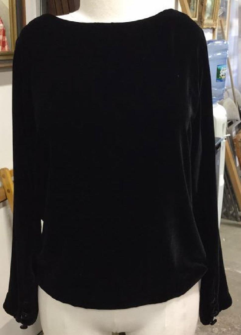 KICKIT Long Sleeve Velvet Button Shirt