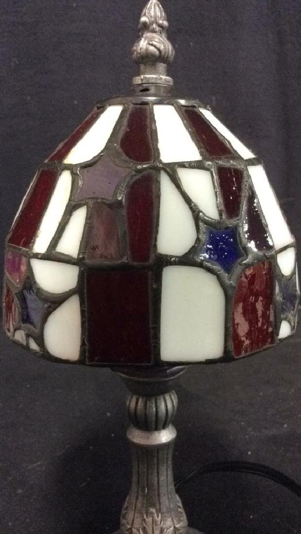 Stained Glass Shade Desk Lamp - 2